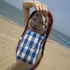 Joy Bag (Check Blue)