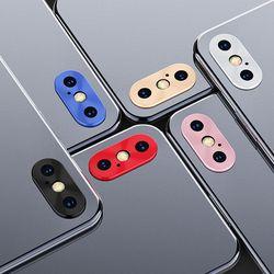 아이폰X XR XS 메탈 후면카메라 렌즈보호캡 보호링
