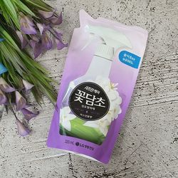 꽃담초 섬유탈취제 자스민 리필 320ml