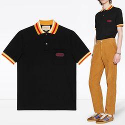 18FW 로고패치 카라 티셔츠 527727 X9X76 1082