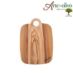 [Arte in olivo]올리브나무 도마(홀) 24x17