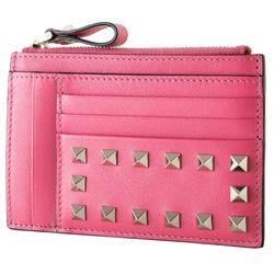 18SS 락스터드 동전지갑 핑크 PW2P0673 BOL 0HO