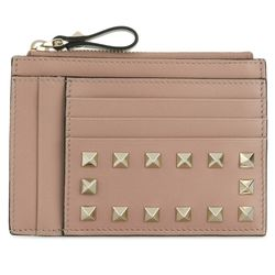 18SS 락스터드 동전카드지갑 핑크PW2P0673 BOL P45