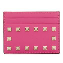 18SS 락스터드 카드지갑 핑크 PW2P0486 BOL 0HO