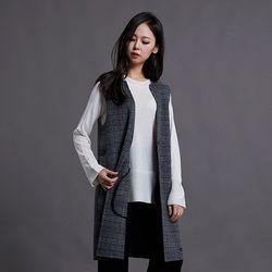 라운드넥 가로조직 스웨터(3Color) ALKL19TG6