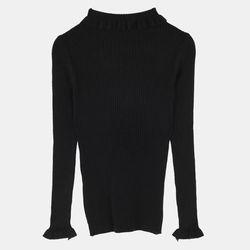 프릴 골지 스웨터 TRKA18104