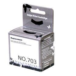 호환잉크 리필 카트리지 HP703 블랙  F735 D730 K209A K109A