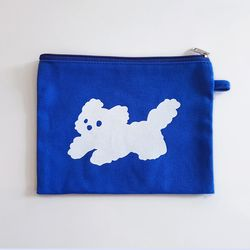 [파우치] 뭉게뭉개 파우치 블루