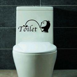 펭귄 데코스티커 화장실 욕실 꾸미기