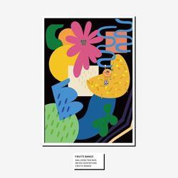 벌룬프렌즈 후르츠 포스터 - A3 A2