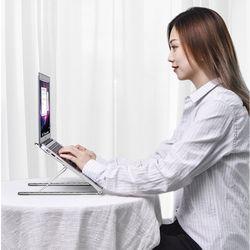 DDZONE 알루미늄 휴대용 접이식 노트북 받침대 DD-NS20 거치대