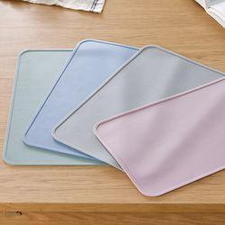 파스텔 실리콘 테이블매트 식탁매트 깔개 받침 4color