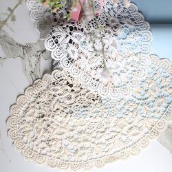 [꾸미까] 빅 조앤 레이스 매트 도일리 40cm (2color)