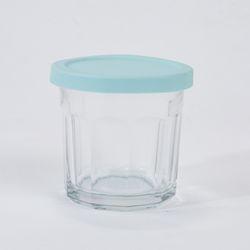 루미낙 렌지가능 밀폐유리병(실리콘뚜껑포함) 420ml