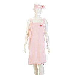 BT 아임수박 드레스타올 세트_핑크