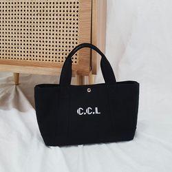 Flota Canvas Bag (black)
