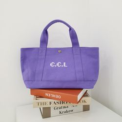 Flota Canvas Bag (lavender)