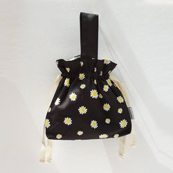 Daisy bucket bag M (black)