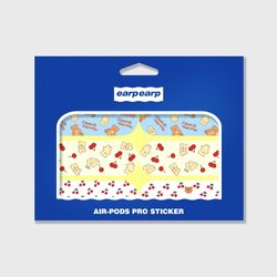Earpearp air pods pro sticker pack-lemon