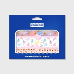 Earpearp air pods pro sticker pack-pastel pink