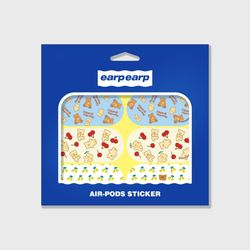 Earpearp air pods sticker pack-lemon