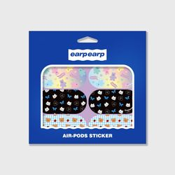 Earpearp air pods sticker pack-purple