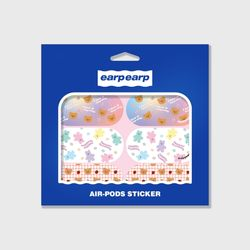 Earpearp air pods sticker pack-pastel pink