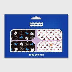 Earpearp galaxy buds sticker pack-purple