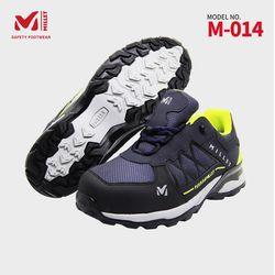 밀레 기능성 안전화 작업화 건설화 4인치 경량 M-014