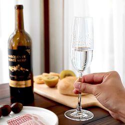 터키 유리 고급 롱 샴페인잔 (Champagne)