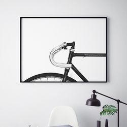 자전거 감성 그림 A3 포스터