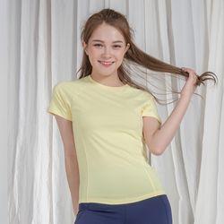 DURAN 클래식 슬림핏 반팔 티셔츠 DYW-TS5045 라임