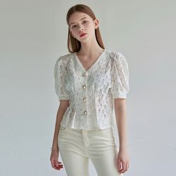LACE V PEARL BL [IVORY]