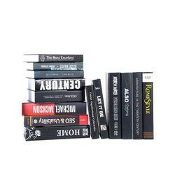 루시데코 뉴블랙 15권set 모형책 가짜책 인테리어책 촬영소품