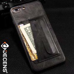데켄스 아이폰11케이스 스탠딩 포켓 가죽 카드 케이스