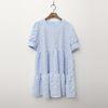 Babydoll Cancan Mini Dress