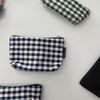 네이비 삼각 파우치(Navy triangle pouch)