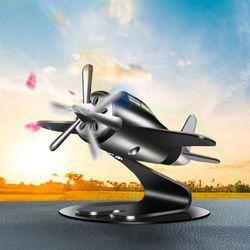 태양열 회전 비행기 차량용 방향제 디퓨저 새차선물