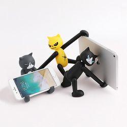 스마트폰 핸드폰 고양이 각도조절 거치대 홀더 스탠드