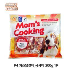 P4 치즈닭갈비 사사미 300g 1P 강아지 애견 껌 개껌