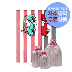 스누피 벤 소형 비치타올 50장이상 자수 제작+방수패키지세트