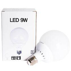 LED 인치구 전구 9W E26 (불투명하얀빛)