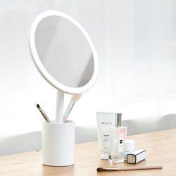 뷰센트 트윙클 탁상 LED 조명 원형거울