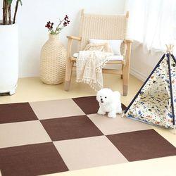 강아지 매트 미끄럼방지 카페트 1P (4color) 45cm