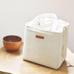라탄 버킷 보냉가방 도시락보냉백 이유식 보냉가방