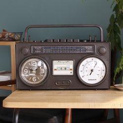 빈티지 라디오 시계  (429-1)