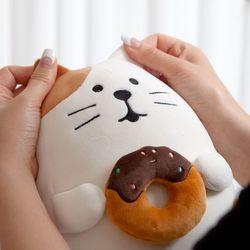 쫀득 미니쿠션 인형 고양이