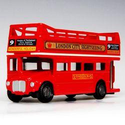 [모터맥스] 4.75인치 런던버스오픈탑미니카 (540M76008)