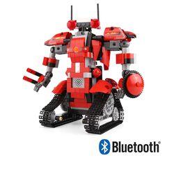 블럭테크닉 블루투스 배틀필드1로봇레드 블럭RC392PCS