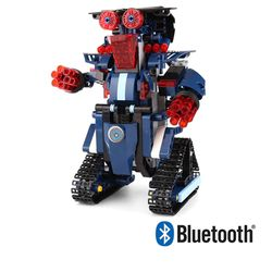 블럭테크닉 블루투스 호라이즌로봇블루 블럭RC 349PCS